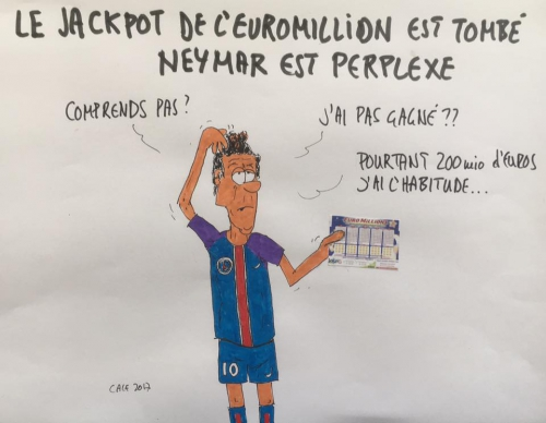 Neymar, PSG, Euromillions, Football, ligue1. sport